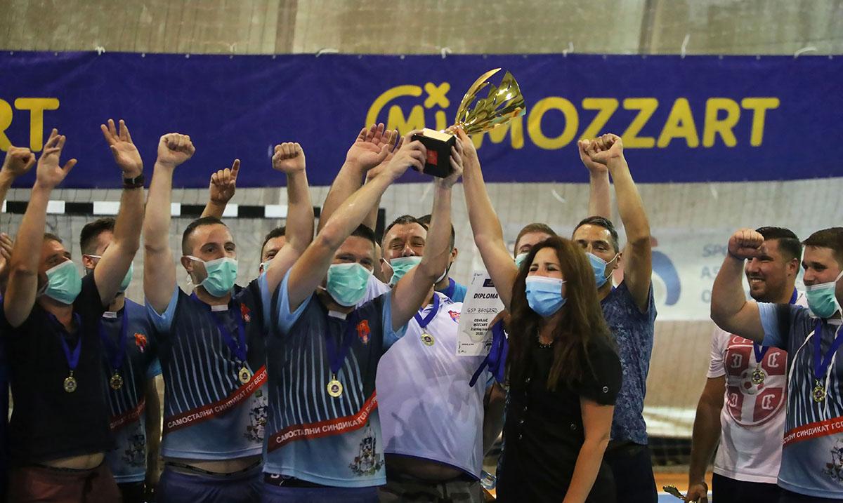 GSP Beograd pobednik Mozzart Zlatnog kupa