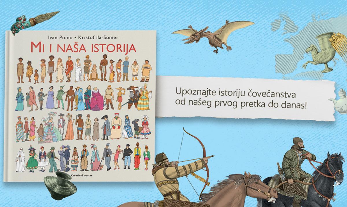 """MI I NAŠA ISTORIJA – novo izdanje """"Kreativnog centra"""""""