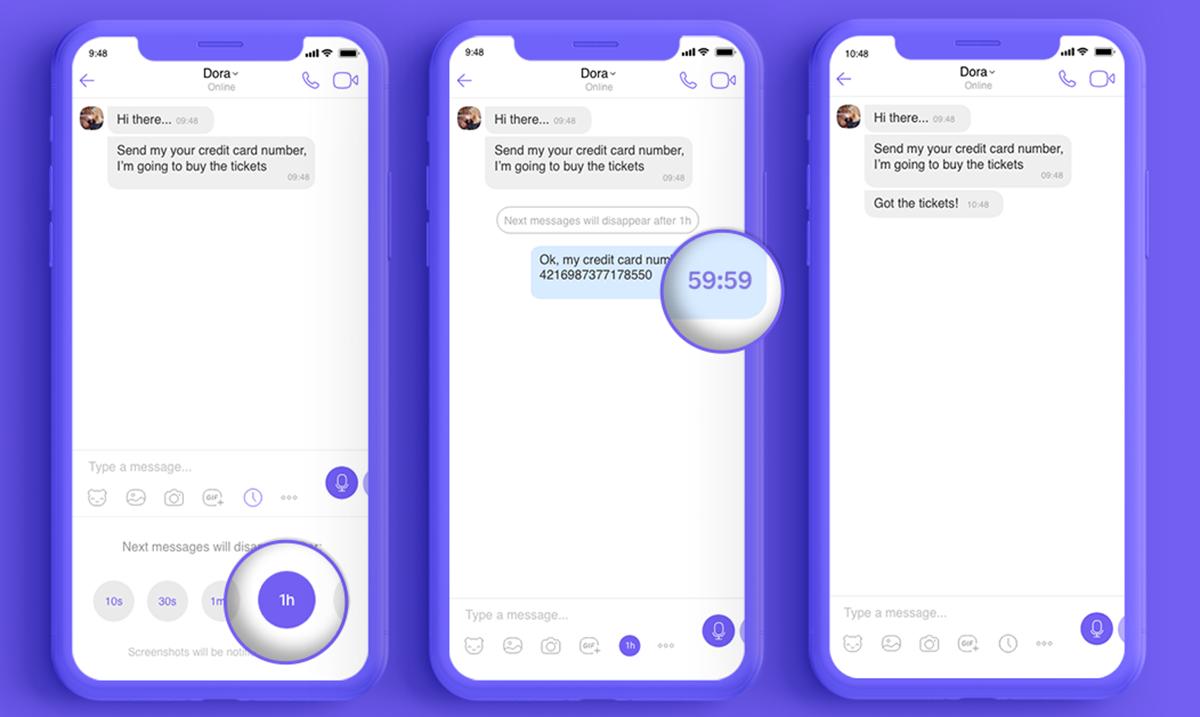 Nestajuće poruke na Viberu od sada i u Srbiji