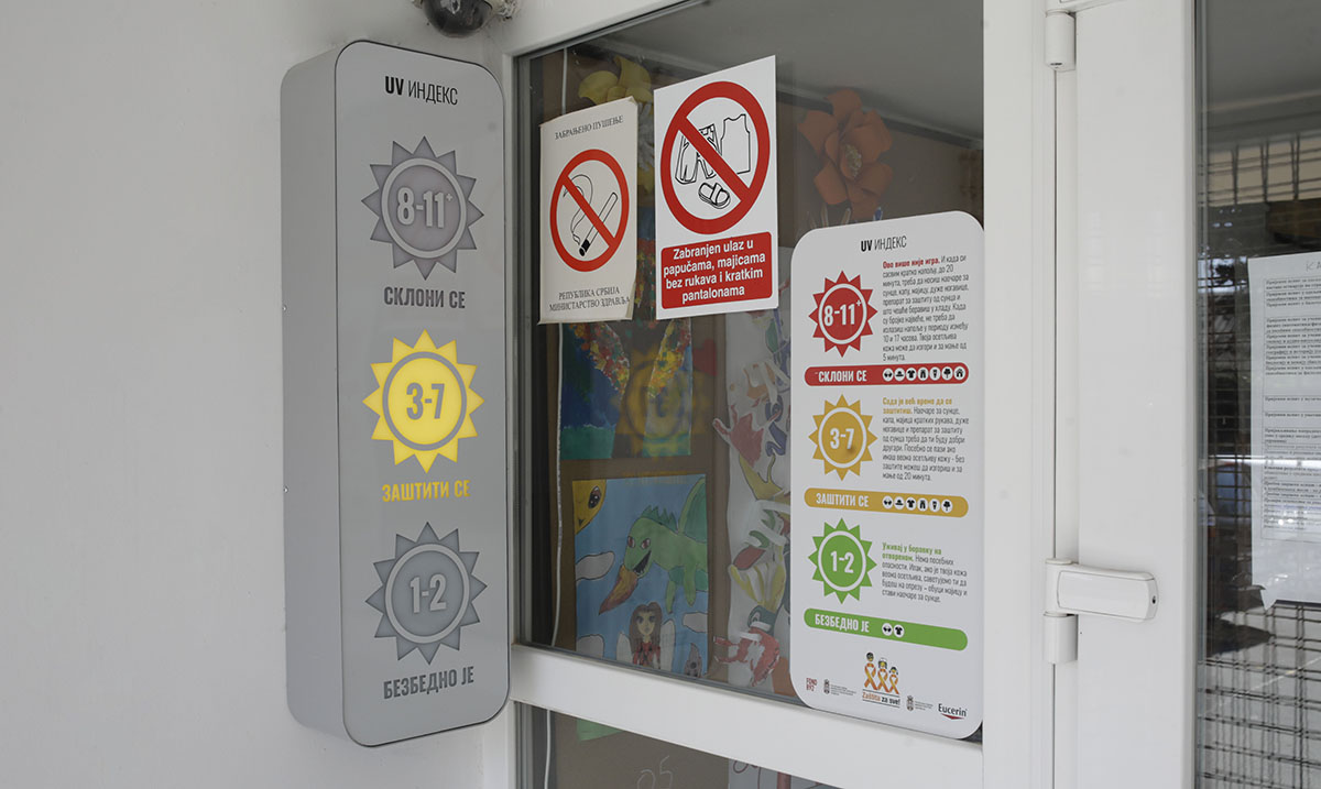 UV indikatori u osnovnim školama