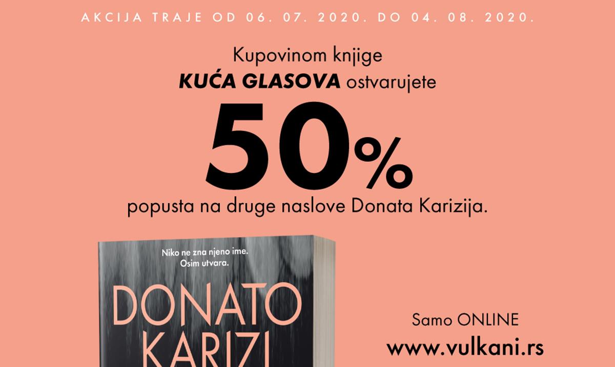 Vulkan izdavaštvo spremilo je veliko iznenađenje za sve fanove Donata Karizija i njegovog prepoznatljivog stila!