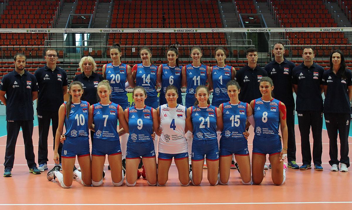 Odbojkašice Srbije osvojile srebro na juniorskom EP