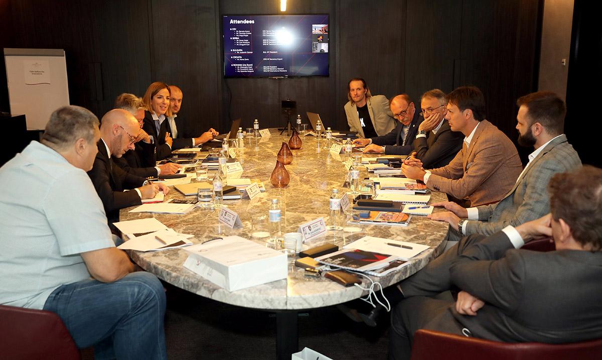 Predstavnici Srbije, Hrvatske, Rumunije, Bugarske i CEV razgovarali u Beogradu o organizacionim pitanjima