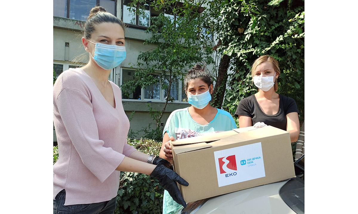 Pomoć socijalno ugroženim porodicama – EKO PUT DO SRCA