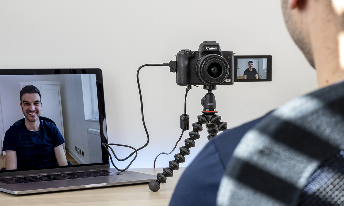 Transformišite svoj Canon fotoaparat u visokokvalitetnu veb kameru pomoću softvera EOS Webcam Utility