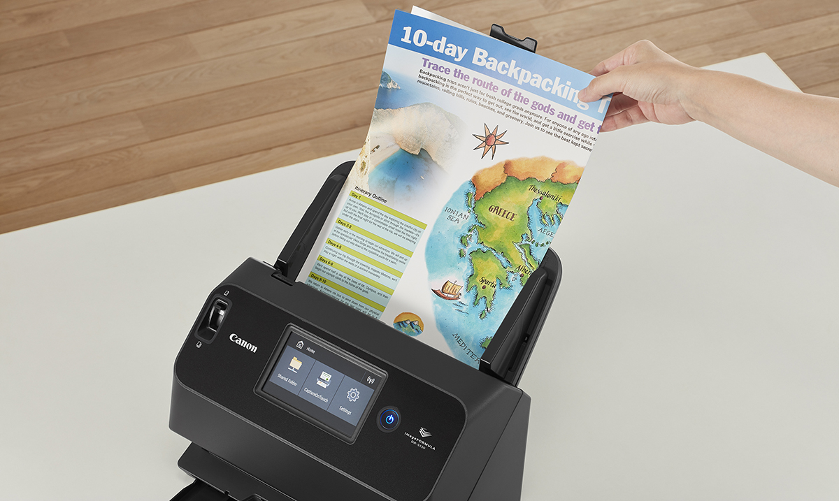Canon pušta u prodaju novi ultrakompaktni skener, fleksibilnih mogućnosti povezivanja