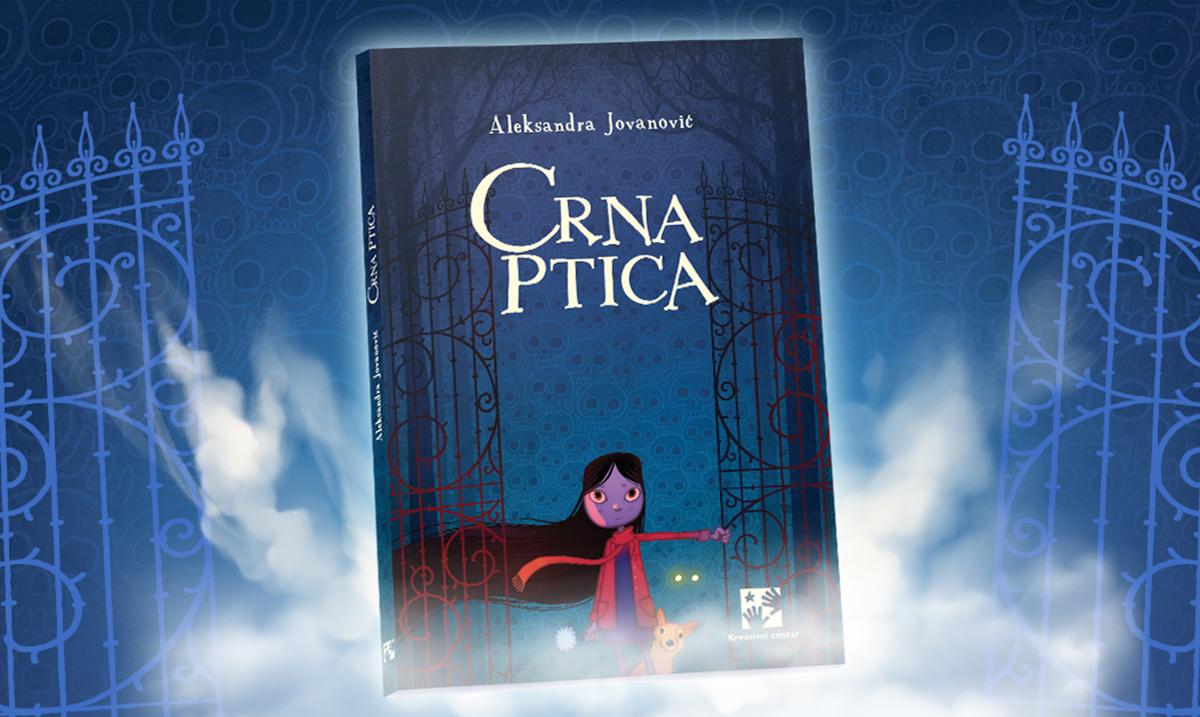 CRNA PTICA – nov roman za tinejdžere u izdanju Kreativnog centra