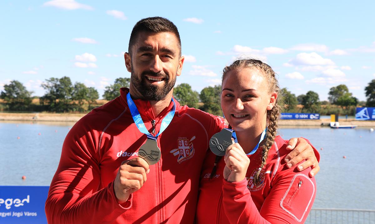 Biljana Relić i Marko Novaković osvojili srebro u mešovitom dvosedu