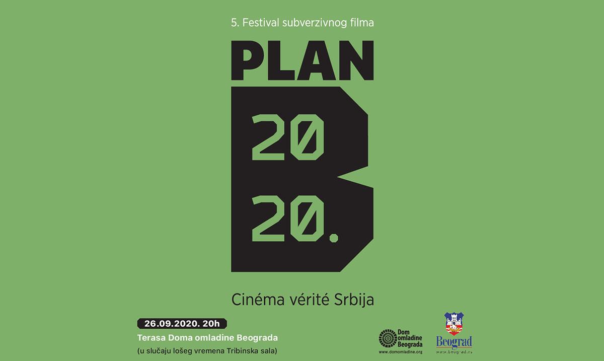 5. Festival subverzivnog filma PLAN B #2