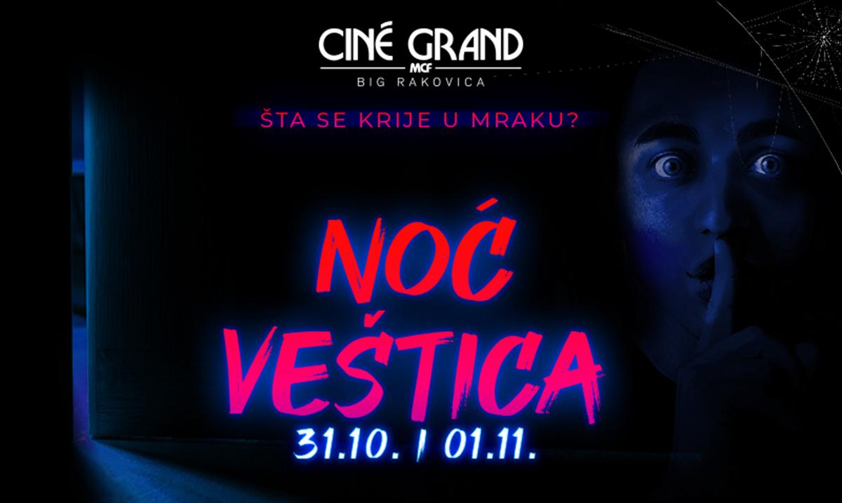 """Noć veštica u Cine grandu uz horor naslove """"Stan 32"""" i """"Čistilište"""""""