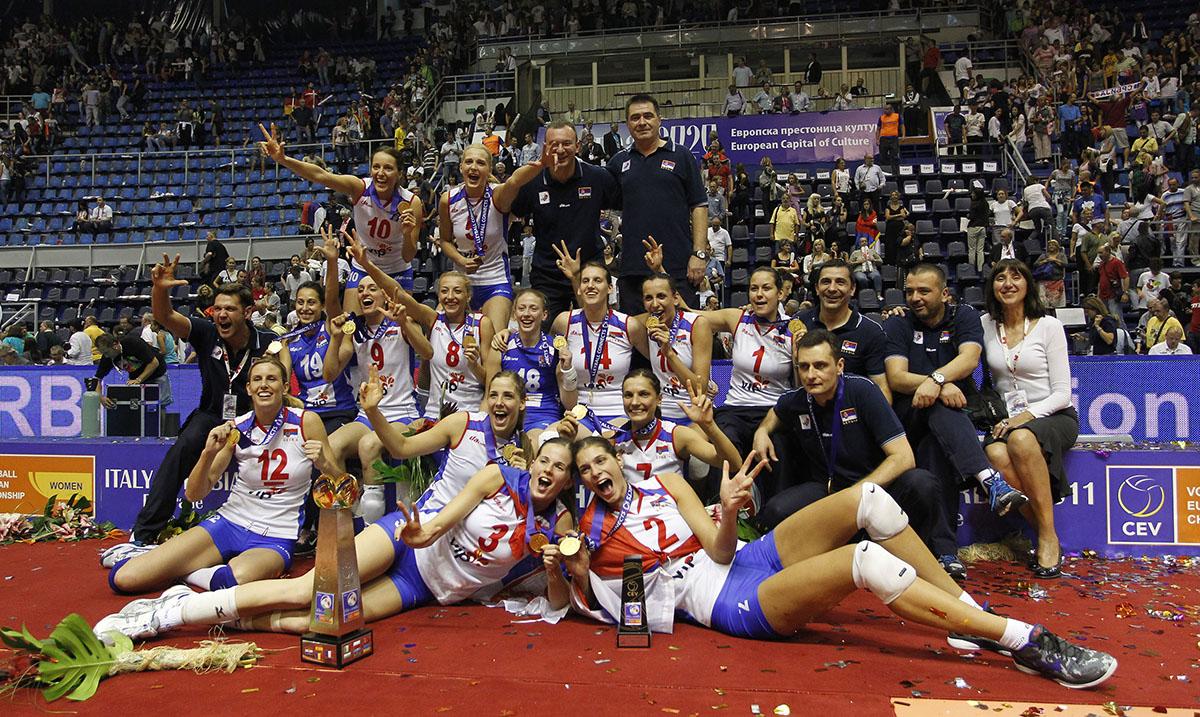 Najbolje odbojkašice Srbije 2. oktobra pre 9 godina osvojile prvu titulu prvaka Evrope