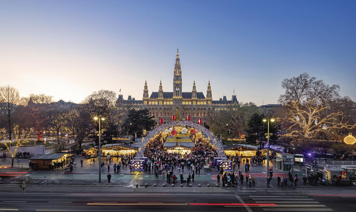 Novogodišnji vašari u Beču
