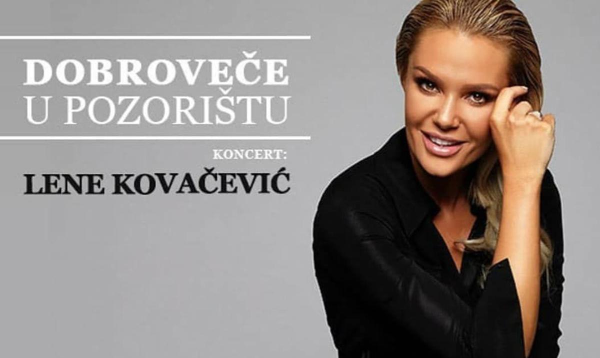Intimni koncert Lene Kovačević u Zvezdara teatru 10. novembra
