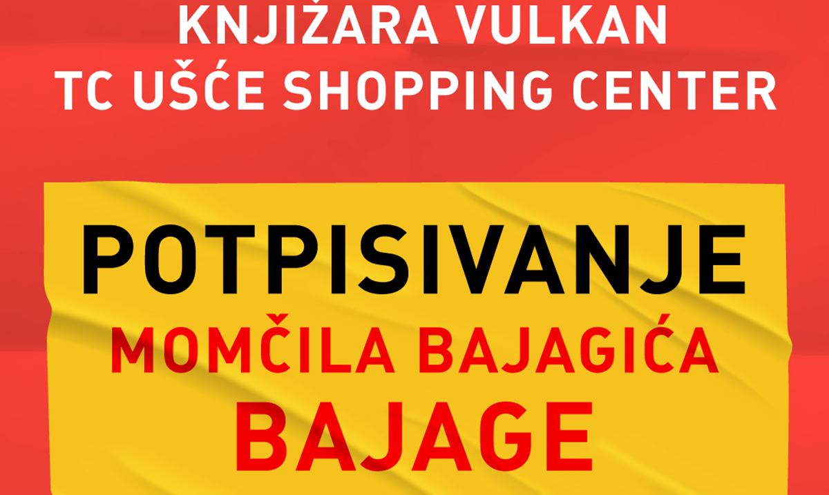 Momčilo Bajagić Bajaga gost Vulkanovog sajma knjiga!