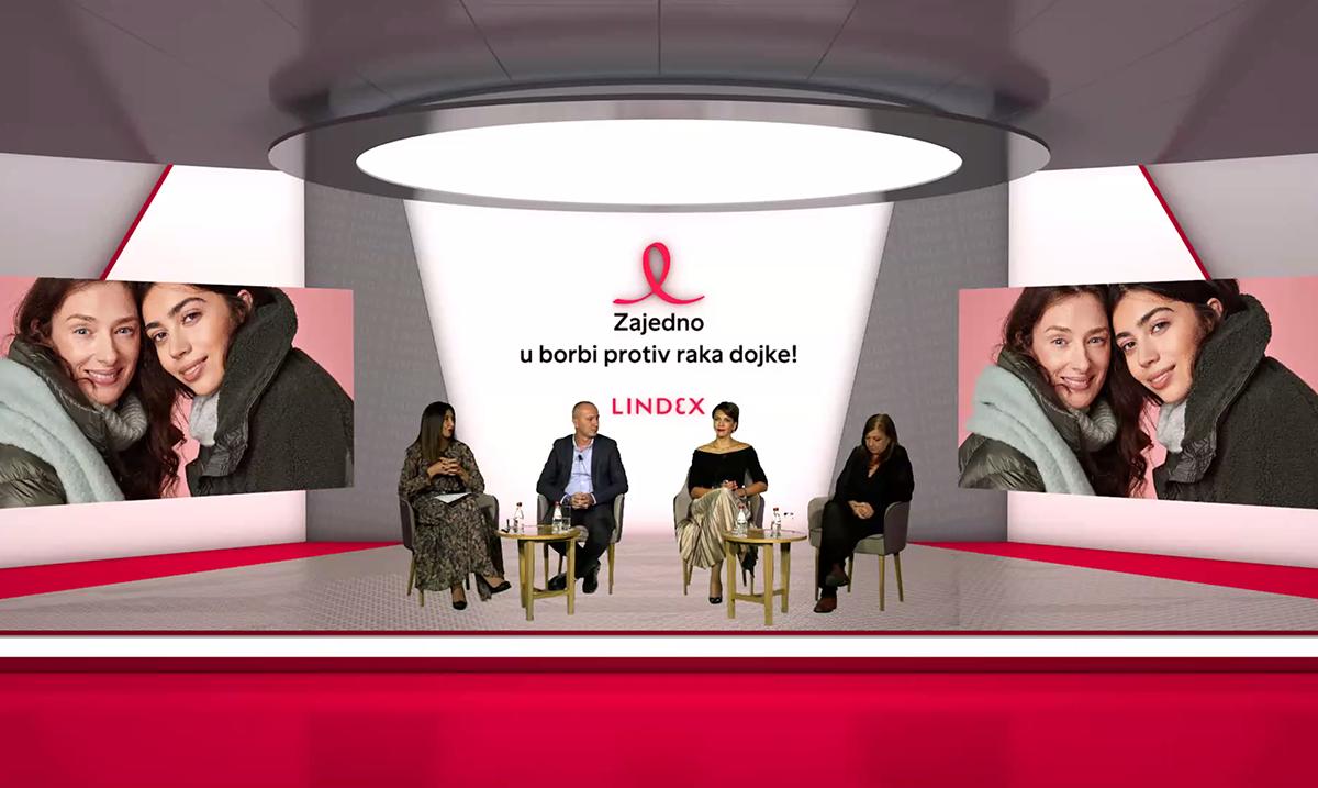 Najmanje šest razloga da i ove godine budemo zajedno:  Lindex i kupci udruženi u borbi protiv raka dojke