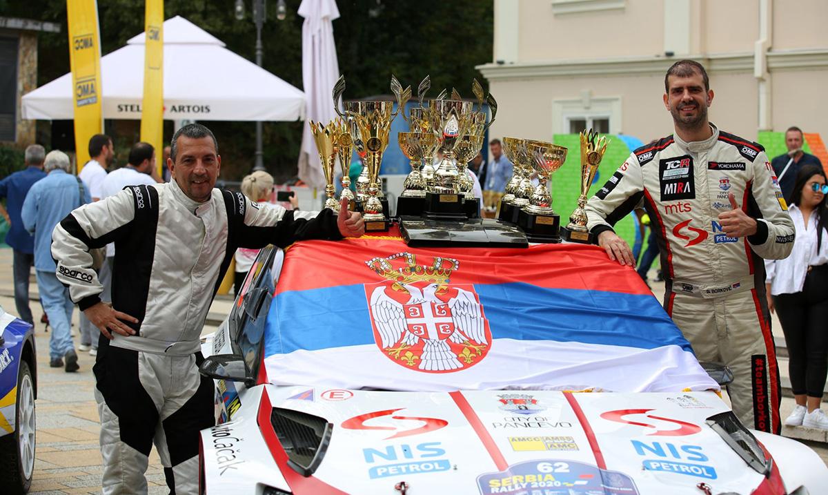 Borković odbranio šampionsku titulu na 53. Srbija reliju