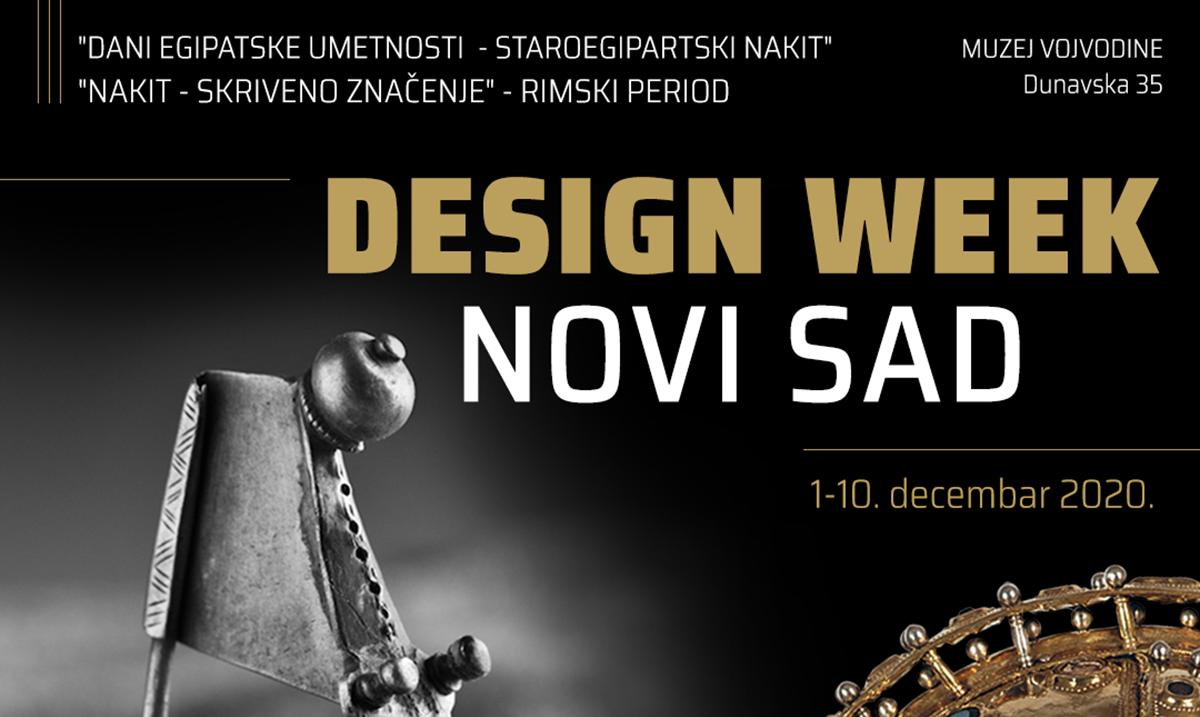"""""""Design Week 2020"""" u znaku egipatske umetnosti"""