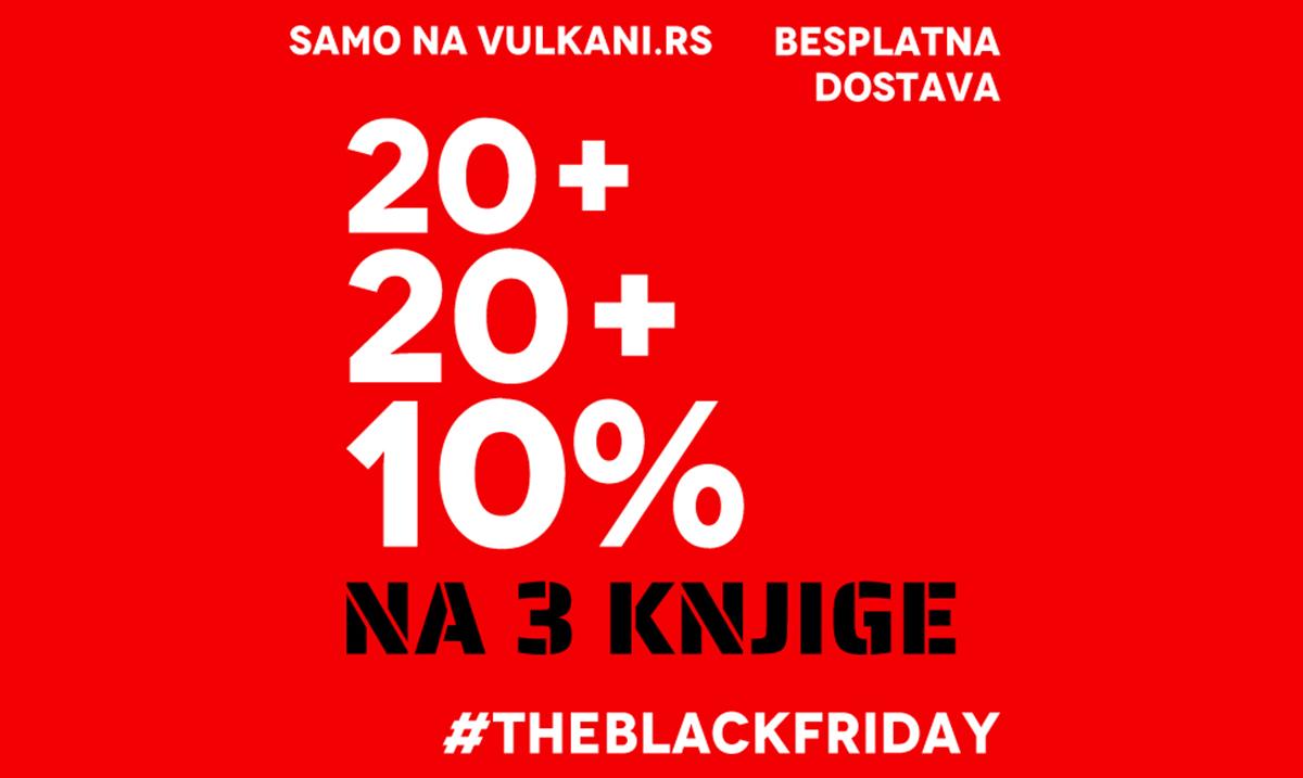 Black Friday akcija na sajtu Vulkan izdavaštva