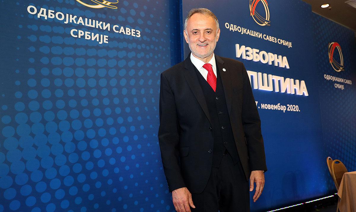 Gajić predsednik Odbojkaškog saveza Srbije do 2025.