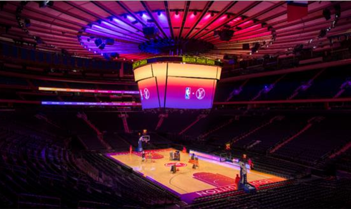 Medison Skver Garden domaćin virtuelne prezentacije modne kolekcije Louis Vuitton i NBA