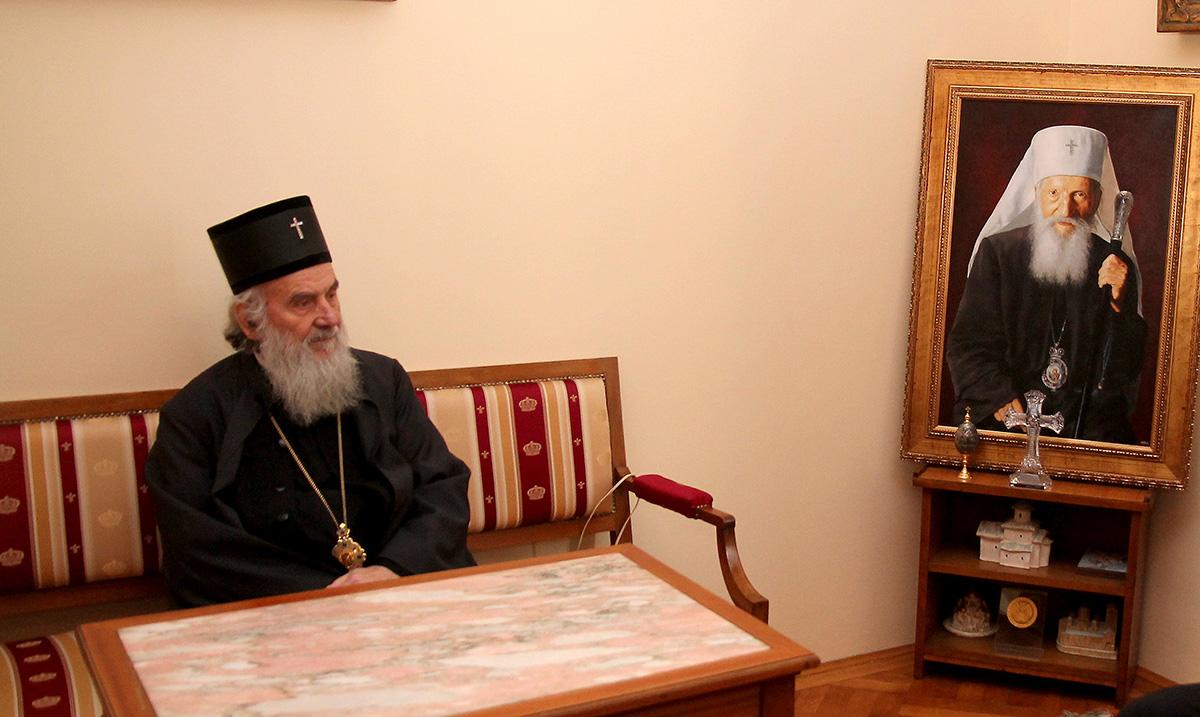 Zvezda i Partizan se oprostili od patrijarha Irineja