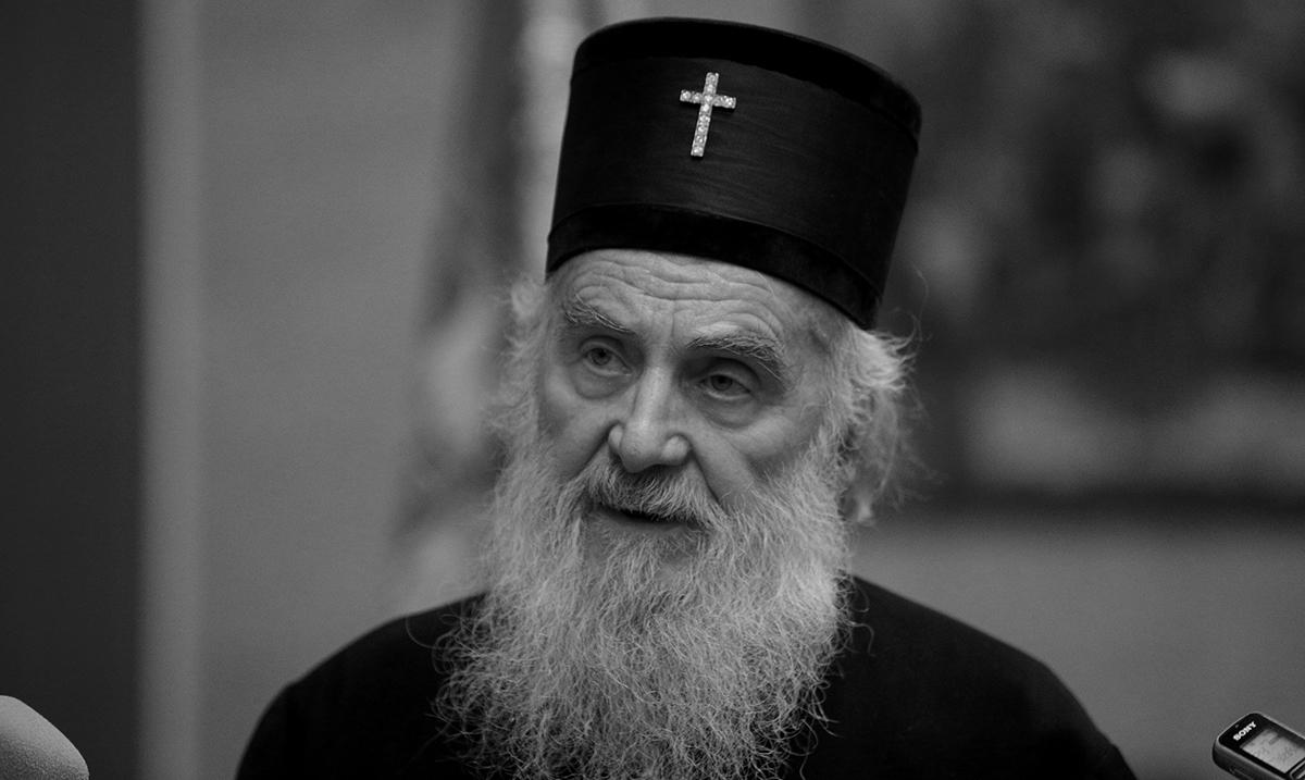 SPC zvanično saopštila: Preminuo patrijarh Irinej