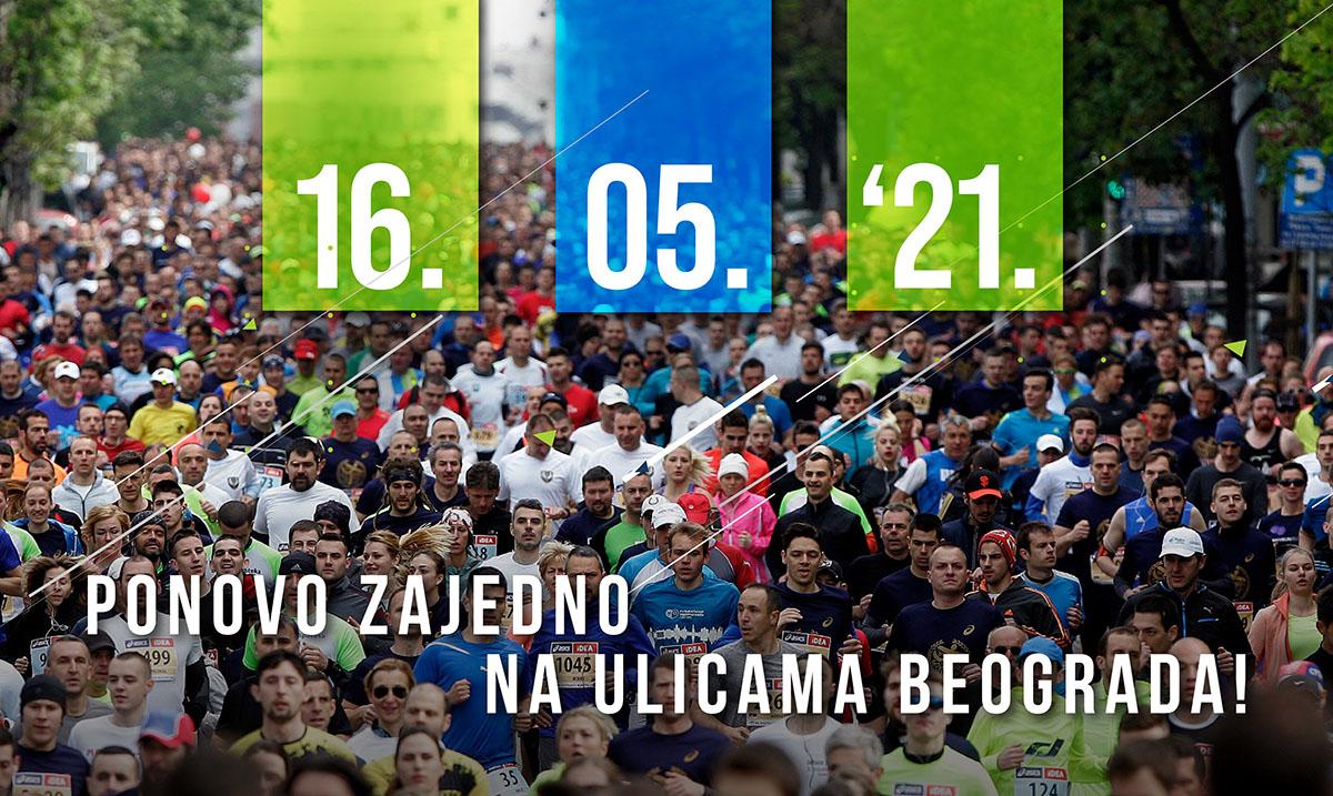 34. Beogradski maraton 16.05.2021. godine