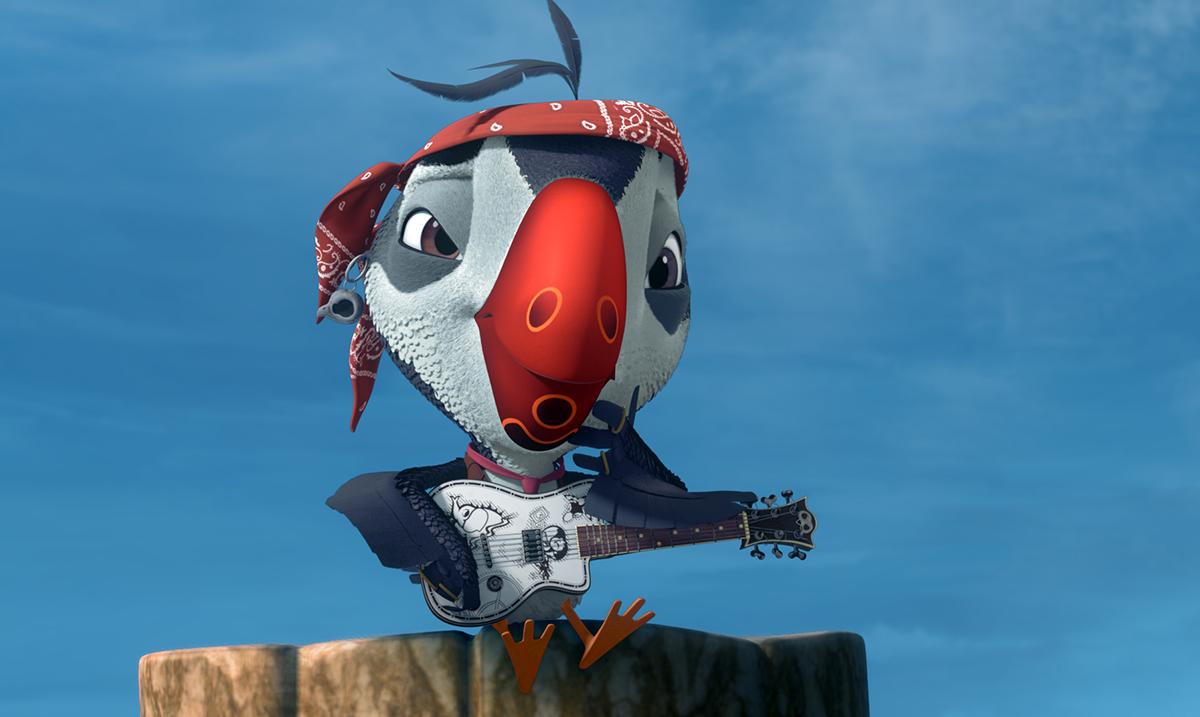 Domaći kreativci učestvuju u stvaranju animiranog serijala Pafini sa Džonijem Depom u glavnoj ulozi