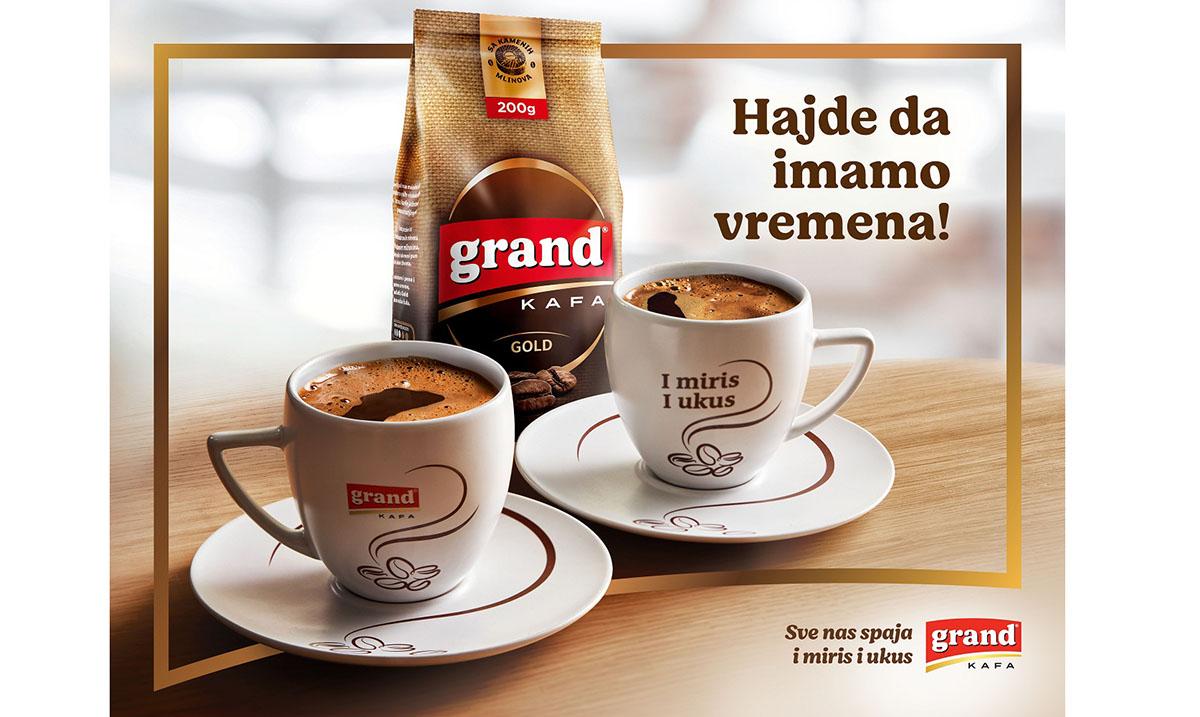"""Zlatno priznanje UEPS-A za """"Hajde da imamo vremena"""" Grand kafe"""