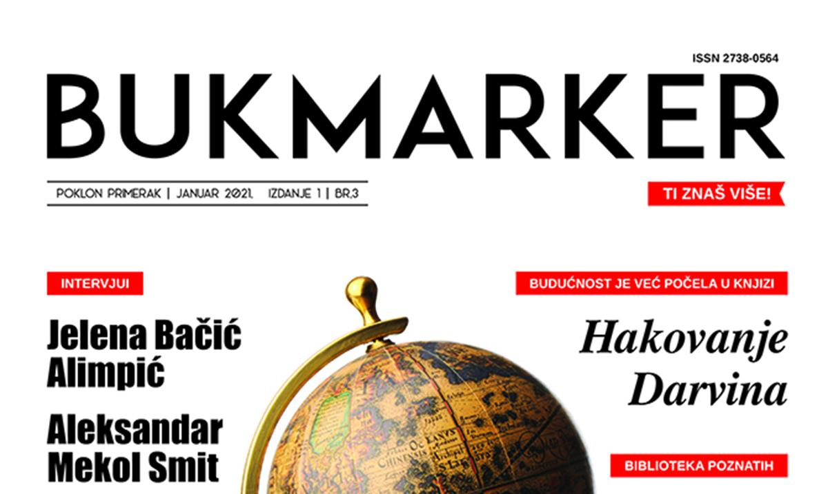Čitanje je karta za ceo svet – putujemo sa slavnim piscima u januarskom broju časopisa Bukmarker