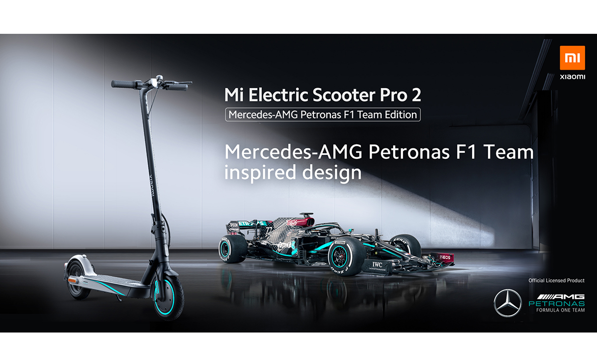 Vozite se sa najboljima: Mi Electric Scooter Pro 2 Mercedes-AMG Petronas F1 Team Edition