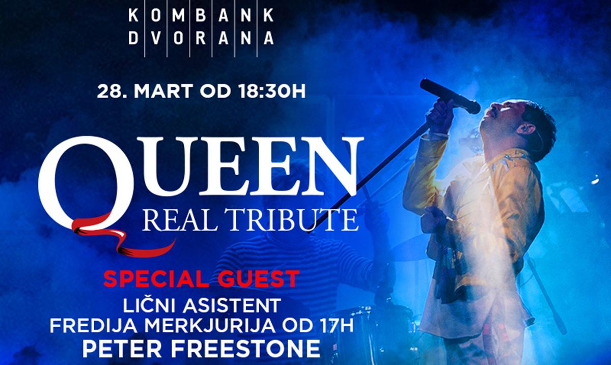 """Queen real tribute"" u Kombank dvorani 28. marta, ekskluzivni gosti Piter Friston i Milan Šatnik"