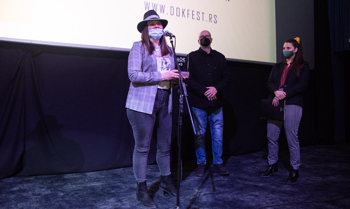 """Film """"Putovanje"""" Aleksandre Mitrić Štifanić proglašen za najbolji debitantski film DOK#3"""