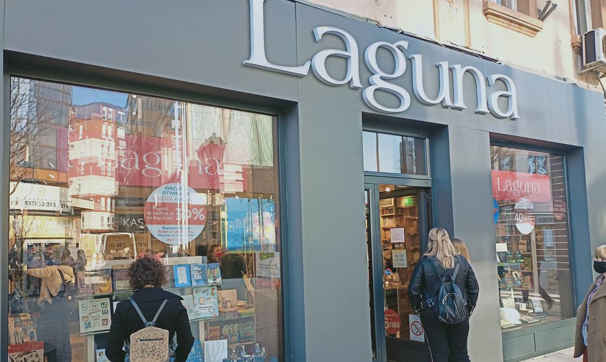 Dobre vesti iz Laguna: Otvorena Delfi knjižara u Novom Pazaru