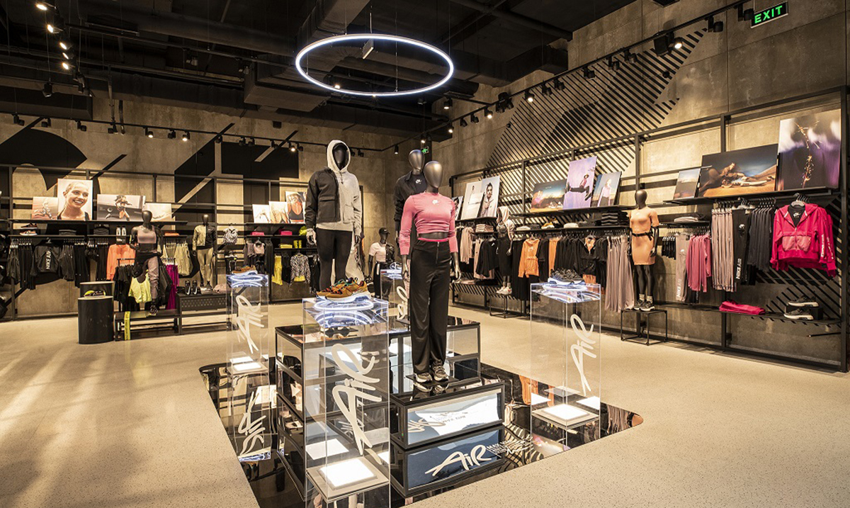 Otvoren najveći Nike shop u Istočnoj Evropi